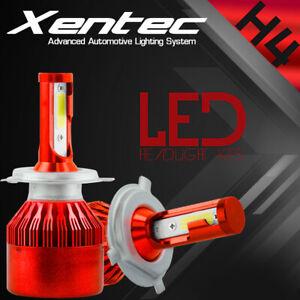 H4 9003 488W 48800LM CREE LED Headlight Kit Hi/Lo Beam Bulb 6000K White Lamp