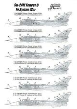 Authentic Decals 1/48 SUKHOI Su-24M FENCER D Syrian War