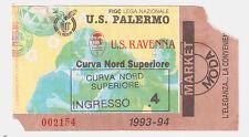 54246 Biglietto stadio - Palermo Ravenna - 1993/1994
