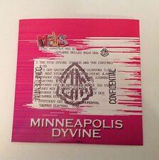 PRINCE Minneapolis Dyvine CD (Not Hitnrun Purple Rain Rare Parade Lovesexy)