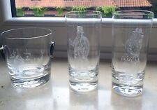 Eiswürfel Behälter mit 2 Gläsern Der Hafen Hamburg Rosenthal mit Motiv-Schliff