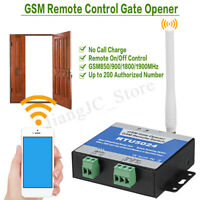 🔥 RTU5024 GSM Gate Opener Relay Switch Phone Wireless Remote Door Control
