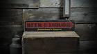 Custom Beer & Liquor Tavern Arrow - Rustic Handmade Vintage Wood Sign