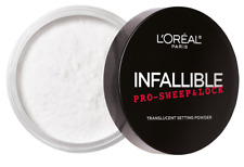 LOreal Paris Infallible Pro Sweep & Lock Loose Setting Powder Translucent 0.28oz
