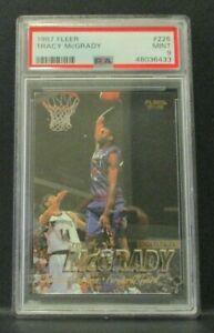1997-98 Fleer #226 - Tracy McGrady - PSA 9 - RC Rookie Card