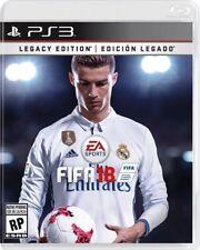 FIFA 18: Legacy Edition (SONY PLAYSTATION 3, 2017)