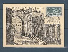 carte  1er jour  journée du timbre   38 Vienne   1964