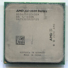 AMD A6-3620 socket FM1 quad core CPU AD3620OJZ43GX 2.2 GHz Llano HD 6530D GPU