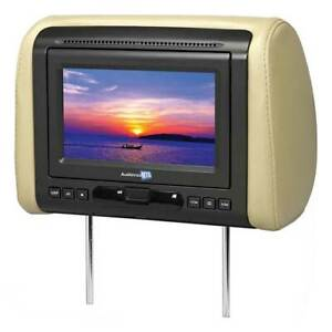 """Audiovox 7"""" Headrest Monitor(Sold Each) With Dvd/Hdmi Output 3 Covers Mtghrd1"""
