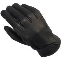 Ixon RS Cruise VX Classic Style Goat Leather Motorcycle Motorbike Gloves - Black