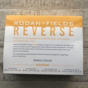 •Best by 2/2021• Mini Rodan + Fields Reverse Brightening TRAVEL SIZE Regimen