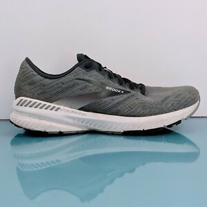 BROOKS Ravenna 11 Mens Sz 10 D Gray Silver Neutral Road Running Shoes Sneakers