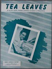 Tea Leaves Berk Capano Freedman Frankie Carle 1948 Sheet Music