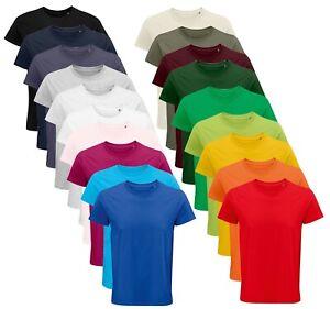 Hommes Unisexe Coton Bio T-Shirt XS -