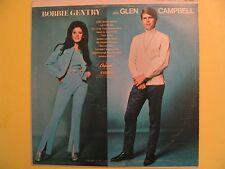 Bobbie Gentry and Glen Campbell Vinyl LP Record Album Capitol ST-2928 Duets