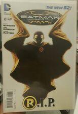 Batman Incorporated #8 Death of Damien Wayne 1st Print Variant!! VF Condition!!