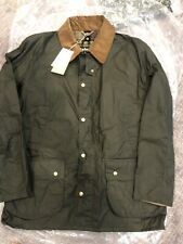 Brand New Barbour Ashby Lightweight Wax Jacket Coat Olive Mens XL