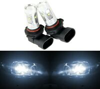 LED 30W 9140 White 5000K Two Bulbs Fog Light Replacement Plug Play Lamp Fit