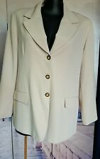 Free Woman Ladies jacket coat 20 beige career office corporate event NWOT
