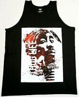 Tupac Shakur Tank Top T-shirt 2Pac Rap Hip Hop Vest Men's New