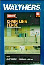 Walthers CHAIN LINK FENCE 933-3125 - HO Model Trains