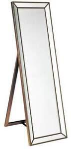 Zion Gold Cheval Floor Mirror