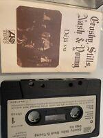 CROSBY, STILLS, NASH & YOUNG - DEJA VU (ATLANTIC ZCK450001) 1970 UK CASSETTE EX