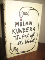 1st Edition The Art of the Novel Milan Kundera Fiction 2nd Printing