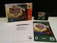 Nintendo 64 N64 Aidyn Chronicles: The First Mage Complete in Box CIB
