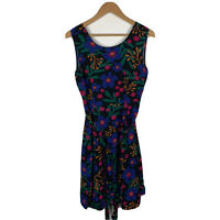 Princess Highway Womens Dress Size 12 Floral Multicoloured Sleeveless Good Condt
