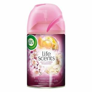 Airwick Freshmatic Life Scents 250ML 1 Piece Air-Freshner Refill,Summer Delights
