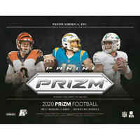 2020 Panini Prizm Football Hobby No Huddle (3) BOX-PICK YOUR TEAM BREAK-New Case
