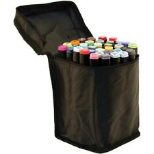 SPECTRUM NOIR Nylon Zippered Storage Case Bag Holds 36 Markers