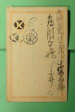 DR WHO JAPAN FANCY CANCEL POSTAL CARD  f54117