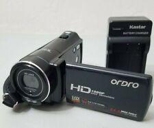 "Ordro Hdv-V7 Hd 1080P 24Mp 3"" Lcd Digital Camcorder *Good/Tested*"