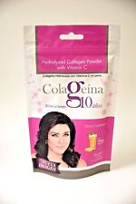 COLAGEINA 10 100gr POUCH, NAIL AND HAIR RESTORER, HYDROLIZED COLLAGEN colageno