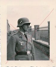 Militaria Germany Soldat WW2 Portrait Luftwaffe Air Force Uniform Helm Helmet