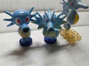 """Pokemon TOMY 2"""" figures HORSEA,SEADRA AND KINGDRA RARE! FREESHIP!"""