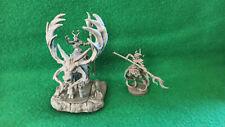 Warhammer Wood Elf Elves glade lord on great stag alternative + spellsinger