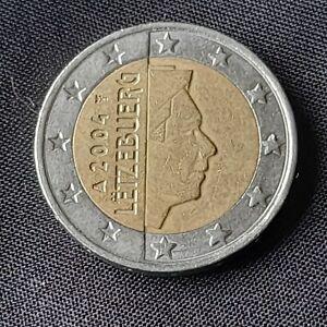 Pièce 2 Euros, Luxembourg 2004, Letzebuerg, Bon État.