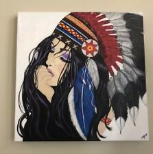 Hand Painted Acrylic Painting 20x20x1 inch canvas