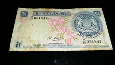 Singapore Orchid $1 note