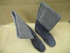 WW2 German Winter Felt Boots. NVA Felt Boots. Pair. Used.
