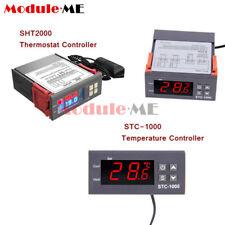 110 220230v Stc 1000sht2000 Temperature Humidity Sensor Controller Thermostat
