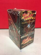 Street Fighter UFS Warrior's Dream Collectible Card Game Packs Sealed Box
