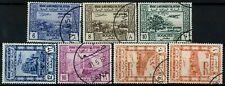 Yemen 1951 SG#81-87 Air Cto Used Set Cat £17 #E22785