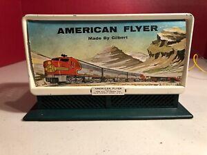 American Flyer Whistling Billboard Santa Fe