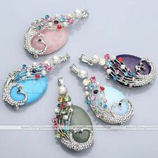 Unbranded Alloy Gemstone Costume Necklaces & Pendants