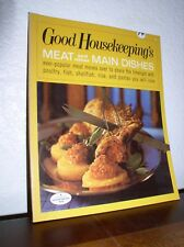 Good Housekeeping's Meat and Other Main Dishes (1967,Paperback)