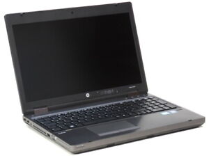 "15,6"" HP Probook 6560b i3 2310M 2,1GHz 4GB 320GB DVDRW Webcam (Akku def.) B-Ware"